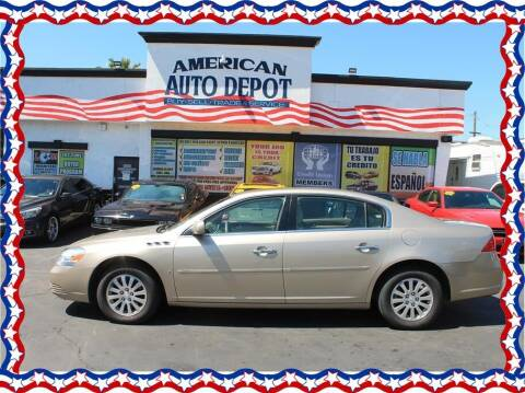 2006 Buick Lucerne for sale at American Auto Depot in Modesto CA