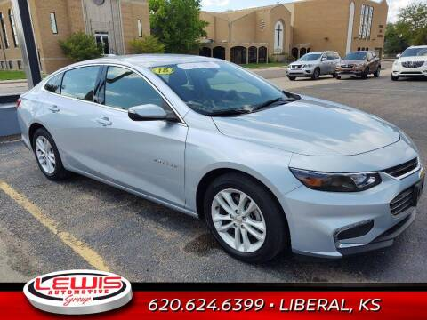 2018 Chevrolet Malibu for sale at Lewis Chevrolet Buick of Liberal in Liberal KS