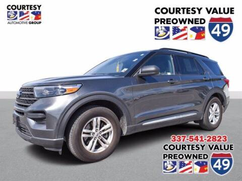 2020 Ford Explorer for sale at Courtesy Value Pre-Owned I-49 in Lafayette LA
