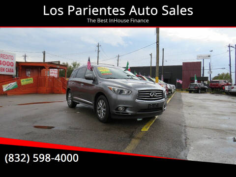 2015 Infiniti QX60 for sale at Los Parientes Auto Sales in Houston TX