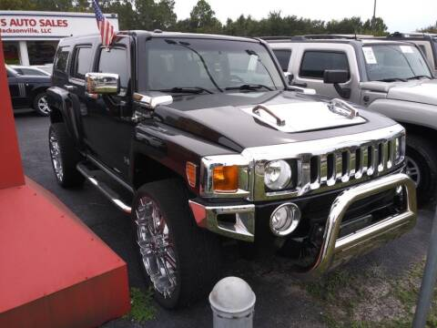 2006 HUMMER H3 for sale at Tony's Auto Sales in Jacksonville FL