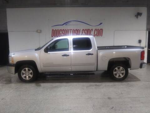 2012 Chevrolet Silverado 1500 for sale at DOUG'S AUTO SALES INC in Pleasant View TN