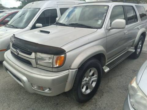 2001 Toyota 4Runner for sale at P S AUTO ENTERPRISES INC in Miramar FL