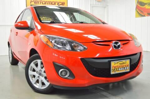 2013 Mazda MAZDA2 for sale at Performance car sales in Joliet IL