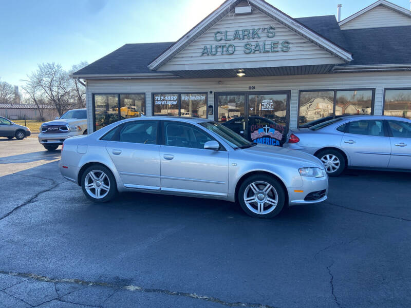 2008 Audi A4 for sale at Clarks Auto Sales in Middletown OH