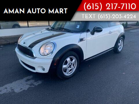 2010 MINI Cooper for sale at Aman Auto Mart in Murfreesboro TN