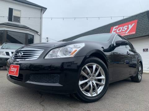 2008 Infiniti G35 for sale at Easy Autoworks & Sales in Whitman MA