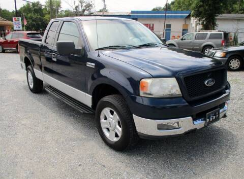 2004 Ford F-150 for sale at Family Auto Sales of Mt. Holly LLC in Mount Holly NC