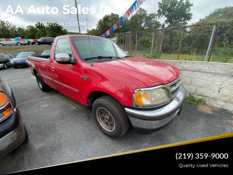 1998 Ford F-150 for sale at AA Auto Sales Inc. in Gary IN