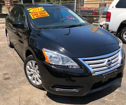 2015 Nissan Sentra for sale at Jeff Auto Sales INC in Chicago IL