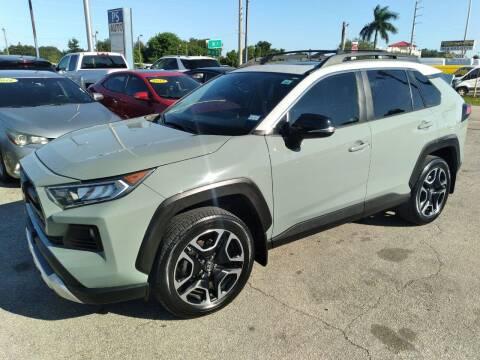 2019 Toyota RAV4 for sale at P S AUTO ENTERPRISES INC in Miramar FL