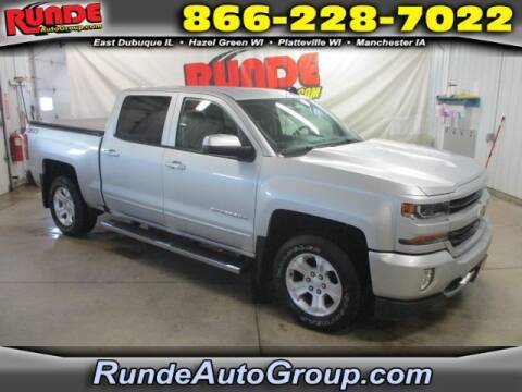 2018 Chevrolet Silverado 1500 for sale at Runde Chevrolet in East Dubuque IL