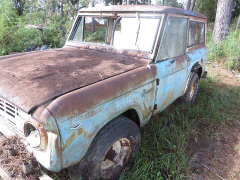 1968 Ford Bronco for sale at Ward's Motorsports in Pensacola FL