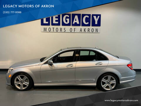 2011 Mercedes-Benz C-Class for sale at LEGACY MOTORS OF AKRON in Akron OH