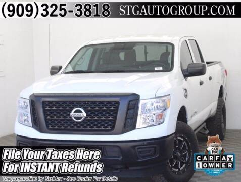 2018 Nissan Titan XD for sale at STG Auto Group in Montclair CA