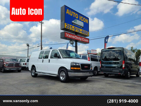 2017 GMC Savana Cargo for sale at Auto Icon in Houston TX