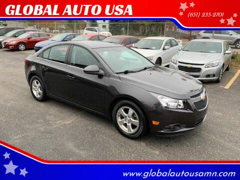 2014 Chevrolet Cruze for sale at GLOBAL AUTO USA in Saint Paul MN