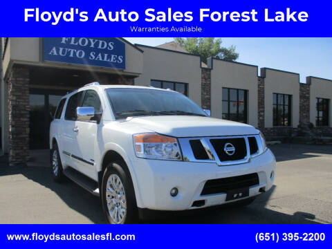 2015 Nissan Armada for sale at Floyd's Auto Sales Forest Lake in Forest Lake MN