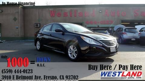 2014 Hyundai Sonata for sale at Westland Auto Sales in Fresno CA