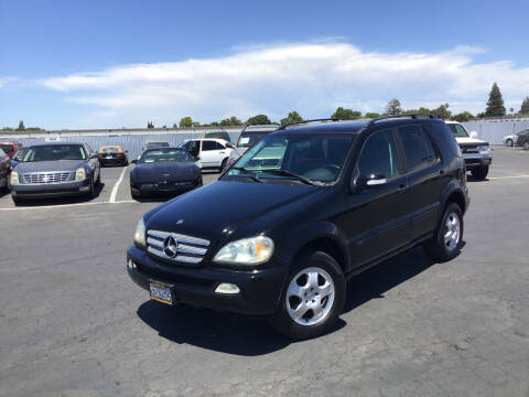 2004 Mercedes-Benz M-Class for sale at My Three Sons Auto Sales in Sacramento CA
