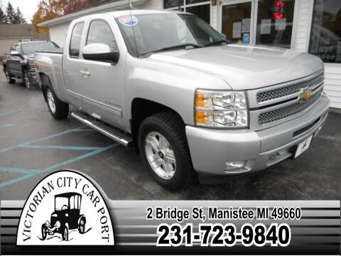 2013 Chevrolet Silverado 1500 for sale at Victorian City Car Port INC in Manistee MI