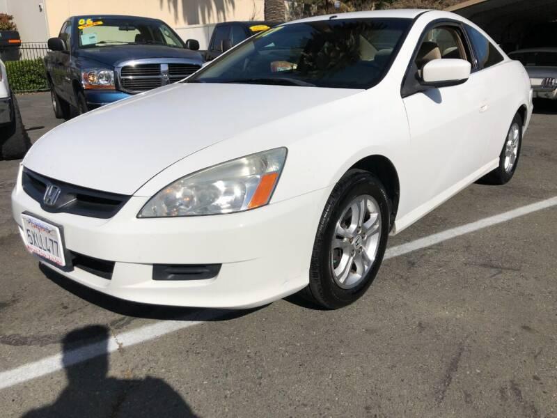 2007 Honda Accord for sale at Martinez Truck and Auto Sales in Martinez CA