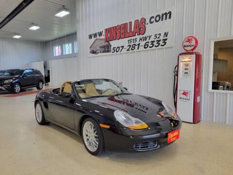 1999 Porsche Boxster for sale at Kinsellas Auto Sales in Rochester MN