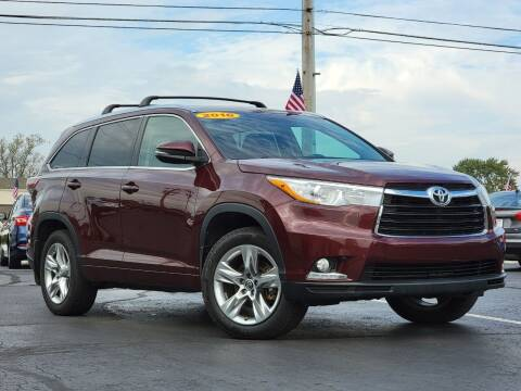 2016 Toyota Highlander for sale at Tri-County Pre-Owned Superstore in Reynoldsburg OH