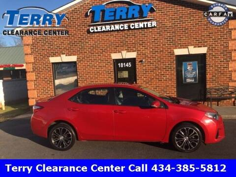 2016 Toyota Corolla for sale at Terry Clearance Center in Lynchburg VA