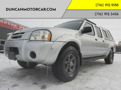 2004 Nissan Frontier for sale at DuncanMotorcar.com in Buffalo NY