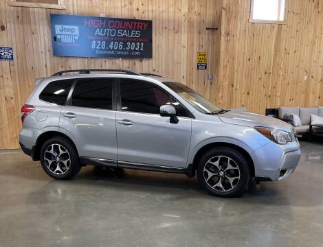 2015 Subaru Forester for sale at Boone NC Jeeps-High Country Auto Sales in Boone NC