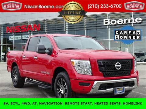 2020 Nissan Titan for sale at Nissan of Boerne in Boerne TX