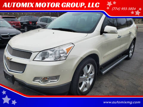 2012 Chevrolet Traverse for sale at AUTOMIX MOTOR GROUP, LLC in Swansea MA