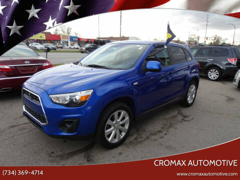 2015 Mitsubishi Outlander Sport for sale at Cromax Automotive in Ann Arbor MI