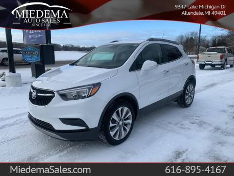2017 Buick Encore for sale at Miedema Auto Sales in Allendale MI