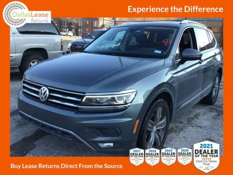 2018 Volkswagen Tiguan for sale at Dallas Auto Finance in Dallas TX