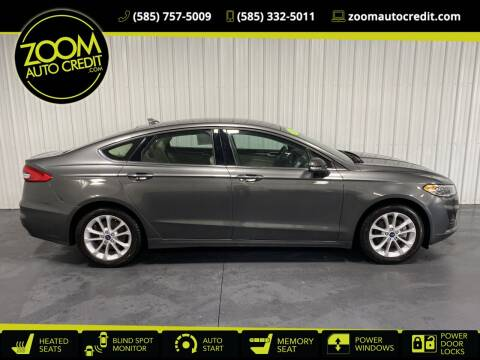 2020 Ford Fusion Hybrid for sale at ZoomAutoCredit.com in Elba NY