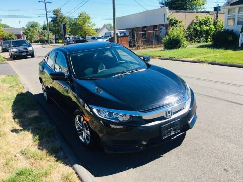 2016 Honda Civic for sale at Kensington Family Auto in Kensington CT