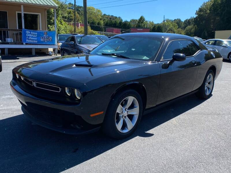 2016 Dodge Challenger for sale at Luxury Auto Innovations in Flowery Branch GA