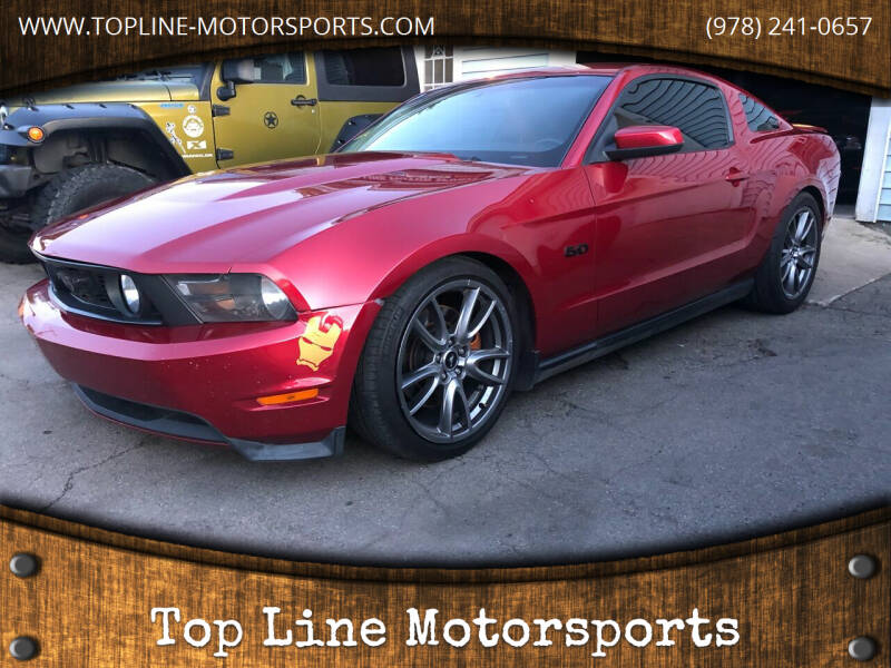 2011 Ford Mustang for sale at Top Line Motorsports in Derry NH