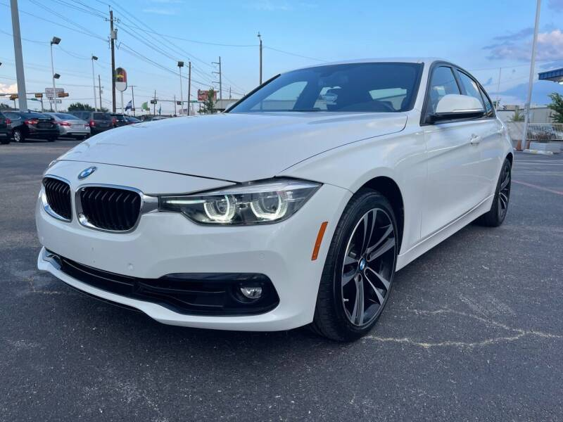 2018 BMW 3 Series for sale at SOLID MOTORS LLC in Garland TX