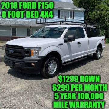 2018 Ford F-150 for sale at D&D Auto Sales, LLC in Rowley MA