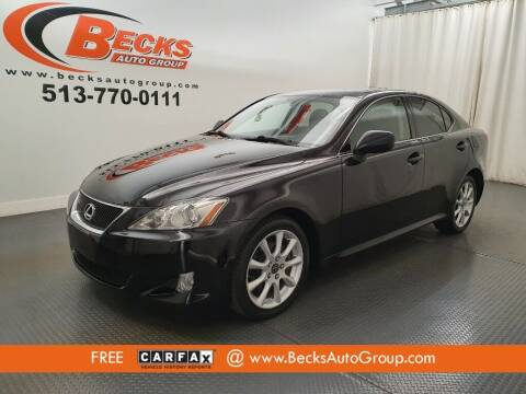 2007 Lexus IS 250 for sale at Becks Auto Group in Mason OH