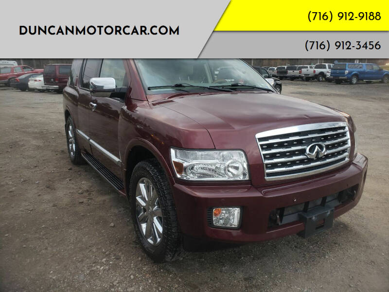 2009 Infiniti QX56 for sale at DuncanMotorcar.com in Buffalo NY