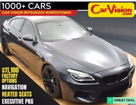 2017 BMW M6 for sale at Car Vision Buying Center in Norristown PA