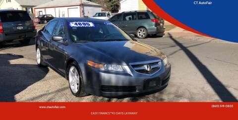 2006 Acura TL for sale at CT AutoFair in West Hartford CT