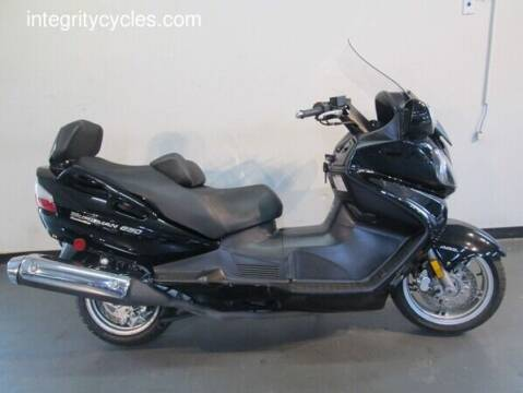 2009 Suzuki Burgman for sale at INTEGRITY CYCLES LLC in Columbus OH