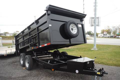 2021 Quality Steel 83x14 DUMP HIGH SIDES for sale at Bryan Auto Depot in Bryan OH