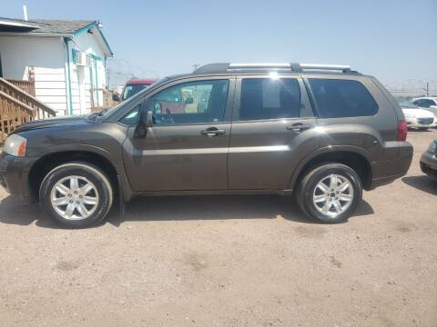 2011 Mitsubishi Endeavor for sale at PYRAMID MOTORS - Fountain Lot in Fountain CO