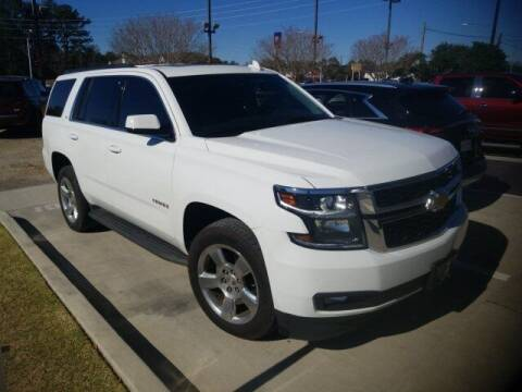 2016 Chevrolet Tahoe for sale at JOE BULLARD USED CARS in Mobile AL